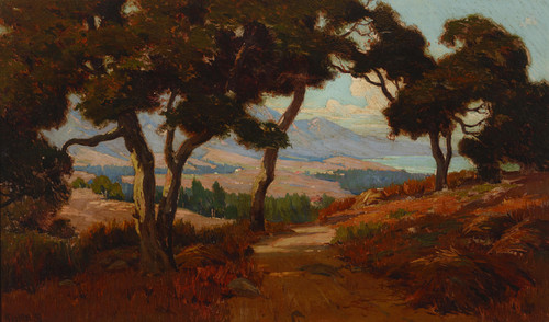 Art Prints of Montecito Valley by Elmer Wachtel