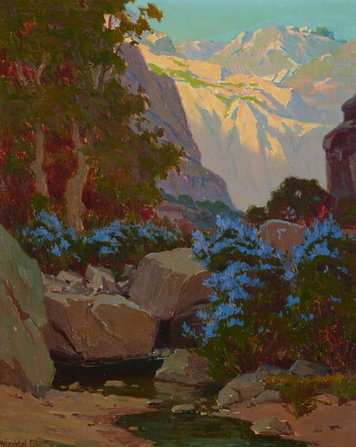 Art Prints of Pasadena Canyon by Elmer Wachtel