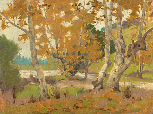 Art Prints of Arroyo Seco by Elmer Wachtel