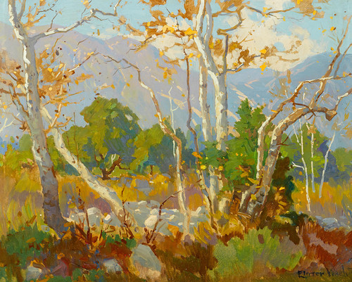 Art Prints of In the Arroyo Seco by Elmer Wachtel
