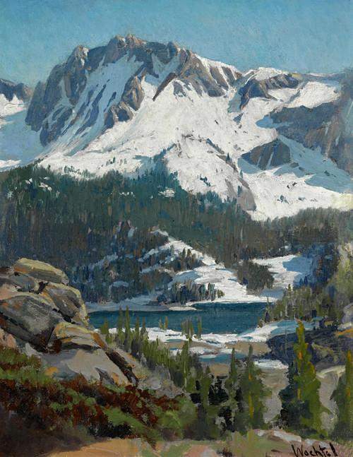 Art Prints of Sierra Panorama by Elmer Wachtel