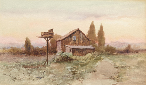 Art Prints of Ranch House by Elmer Wachtel
