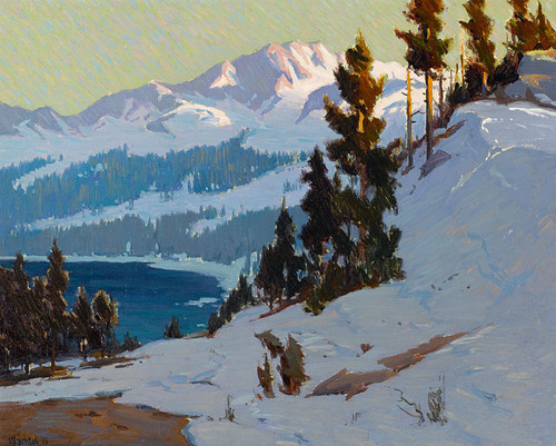 Art Prints of Convict Lake by Elmer Wachtel