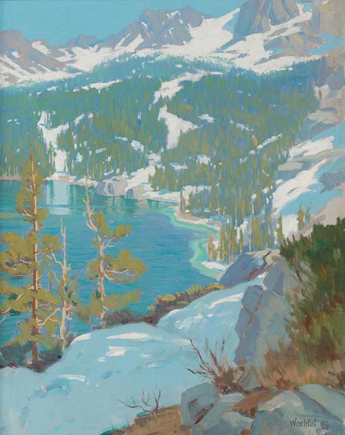 Art Prints of High Sierra Lake by Elmer Wachtel