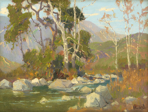 Art Prints of Santa Anita Canyon by Elmer Wachtel