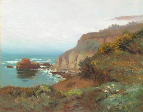 Art Prints of Foggy Coast by Elmer Wachtel
