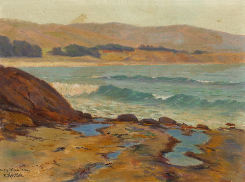 Art Prints of Tide Pools on the Shore by Elmer Wachtel