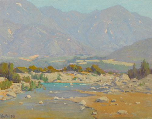 Art Prints of San Gabriel Wash by Elmer Wachtel