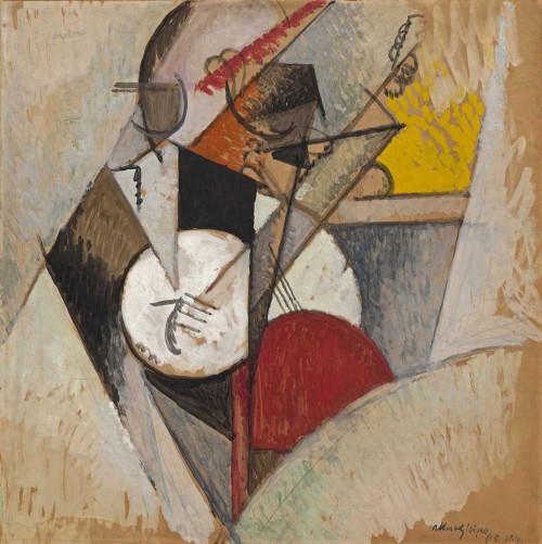 Art prints of Jazz Composition by Albert Gleizes