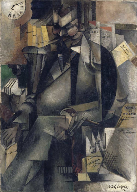 Art prints of Portrait of the Publisher Eugene Figuiere by Albert Gleizes