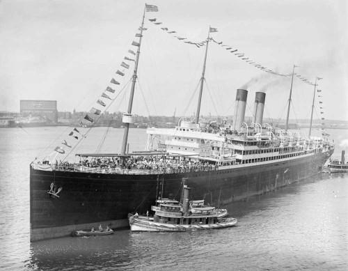 Art prints of the R.M.S. Celtic Ocean Liner from the White Star Line