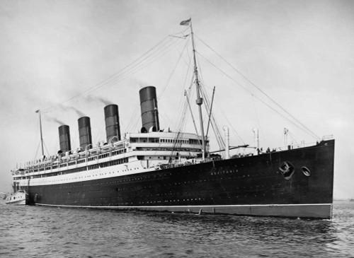 Art prints of the R.M.S. Aquitania Passenger Ship of the Cunard Line