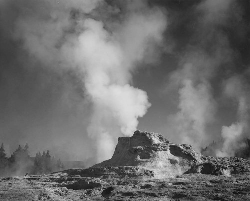 Art prints of Castle Geyser Cove, Yellowstone National Park, Wyoming