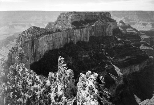 Art prints of Close-in View of Curred Cliff, Grand Canyon National Park, Arizona by Ansel Adams