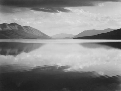Art prints of Evening, McDonald Lake, Glacier National Park, Montana