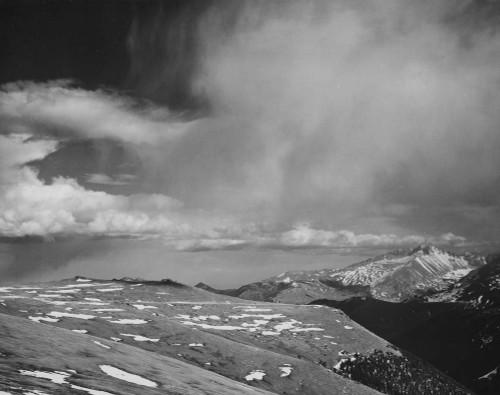 Art prints of Mountain tops, In Rocky Mountain National Park, Colorado