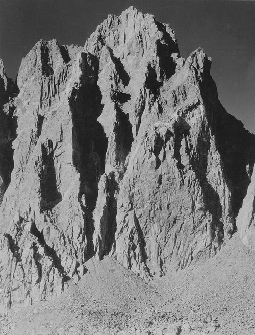 Art prints of Mt. Winchell, Kings River Canyon by Ansel Adams