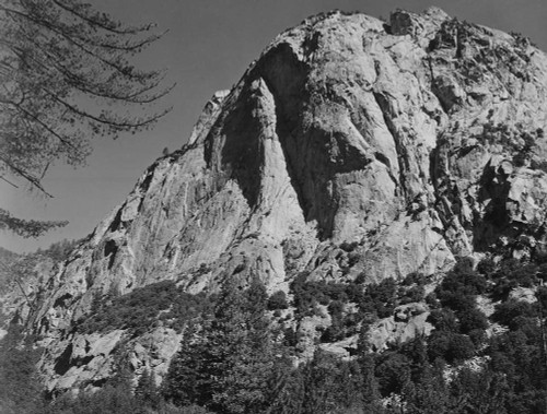 Art prints of North Dome, Kings River Canyon by Ansel Adams