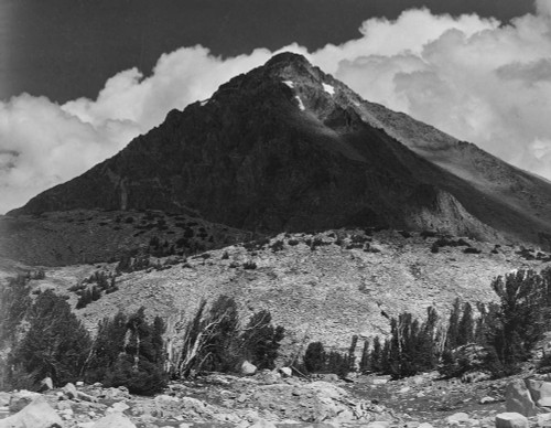 Art prints of Pinchot Pass, Mt. Wynne, Kings River Canyon by Ansel Adams