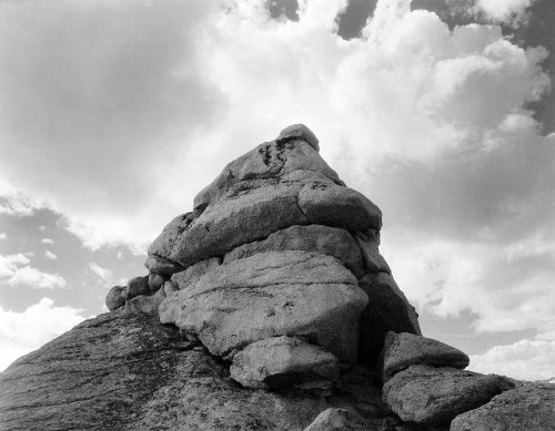 Art prints of Rock and Cloud, Kings River Canyon by Ansel Adams