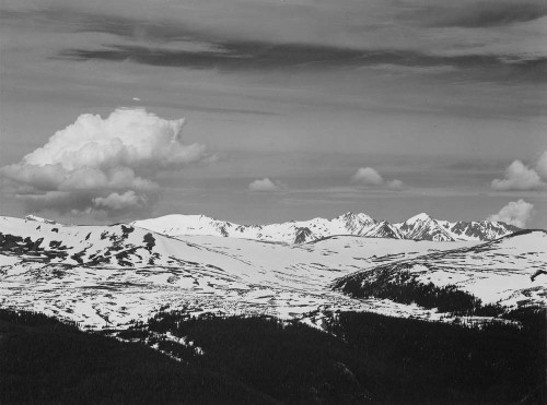 Art prints of Rocky Mountain National Park, Never Summer Range, Colorado