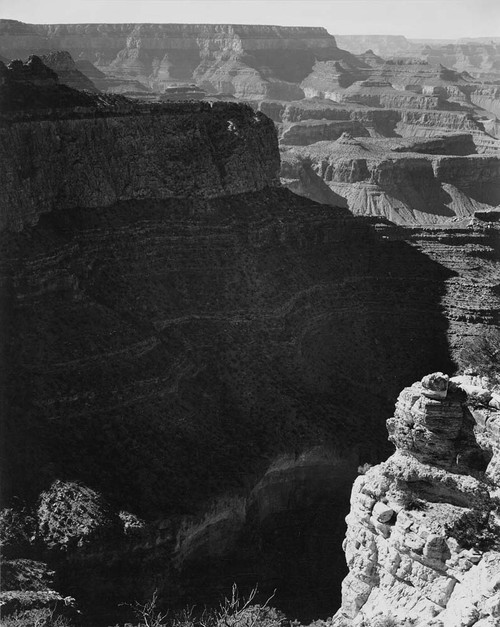 Art prints of View from South Rim, 1941, Grand Canyon National Park, Arizona by Ansel Adams