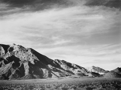 Art prints of View of Mountains Near Death Valley, California