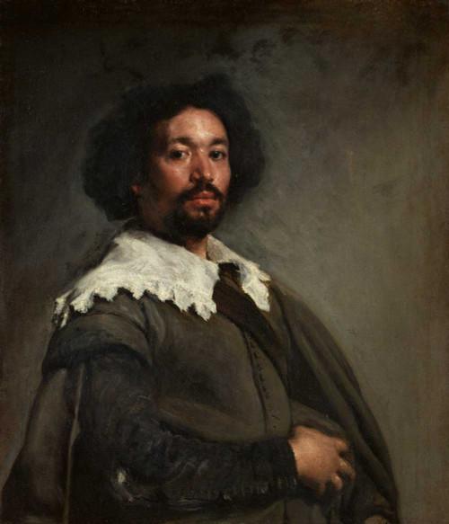 Art prints of Portrait of Juan de Pareja by Diego Velazquez