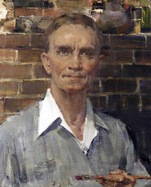 Art prints of Self Portrait by Nicolai Fechin