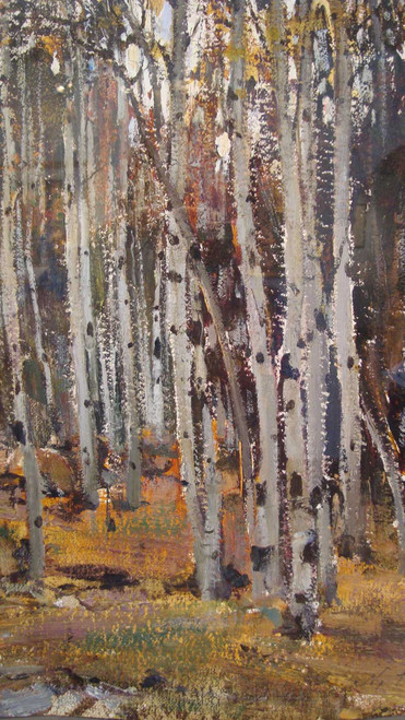 Art prints of Aspens by Nicolai Fechin