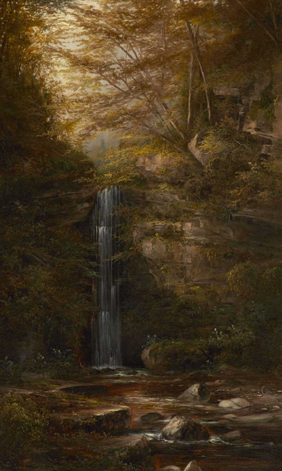 Prints and cards of Madrone Falls of Milliken Creek by Norton Bush