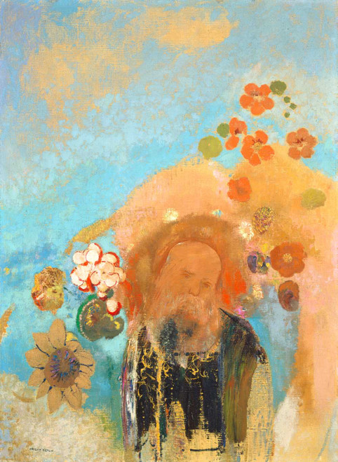 Prints and cards of Evocation of Roussel, 1912 by Odilon Redon