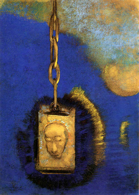 Prints and cards of The Beacon by Odilon Redon