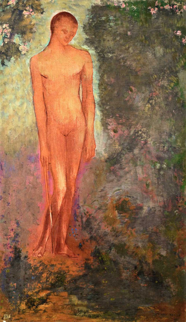 Prints and cards of The Red Man by Odilon Redon