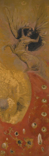 Prints and cards of The World of Chimeras by Odilon Redon