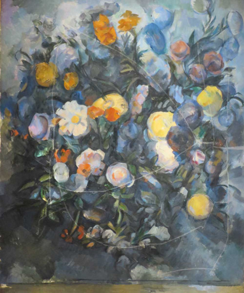 Prints and cards of Flowers by Paul Cezanne