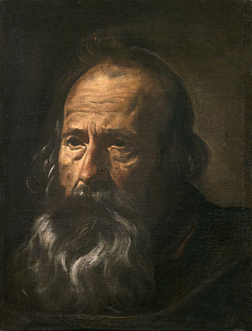 Art prints of Apostle's Head by Diego Velazquez