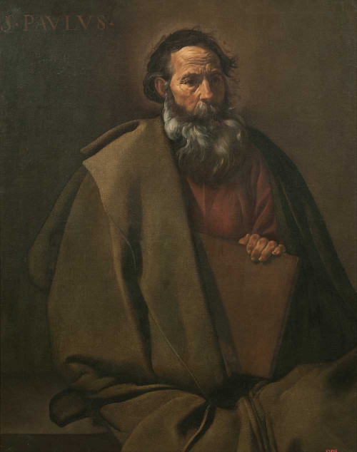 Art prints of Saint Paul by Diego Velazquez