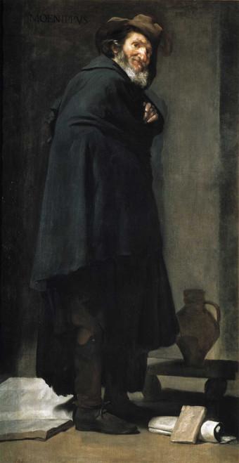 Art prints of Portrait of Menipo de Gadara by Diego Velazquez
