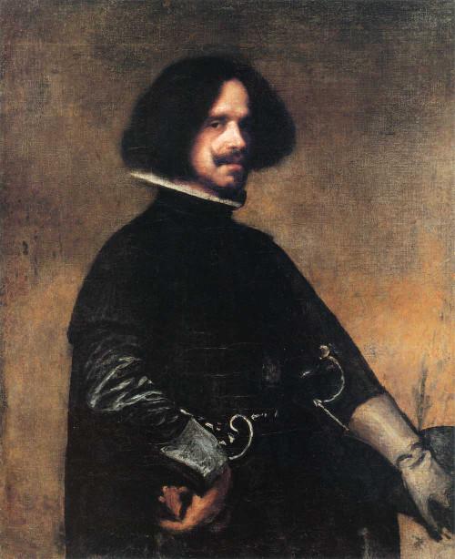 Art prints of Self Portrait by Diego Velazquez