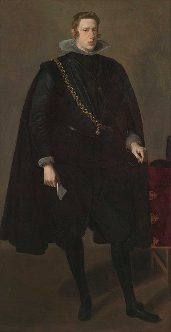 Art prints of Philip IV King of Spain by Diego Velazquez