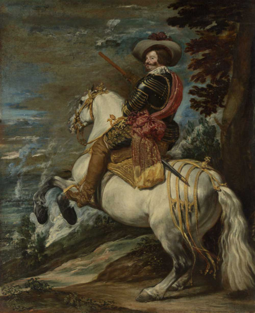 Art prints of Don Gaspar de Guzmán Count-Duke of Olivares by Diego Velazquez