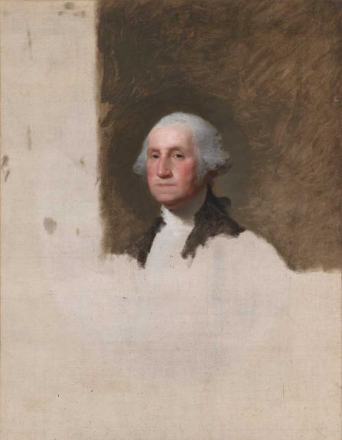 Art prints of George Washington, the Anthenaeum Portrait by Gilbert Stuart