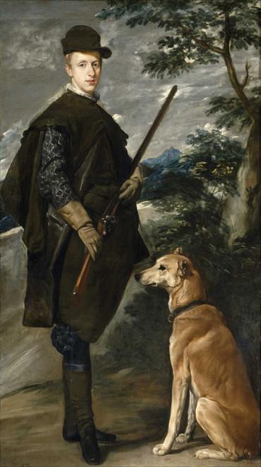 Art prints of Portrait of Cardinal-Infante Ferdinand of Austria by Diego Velazquez