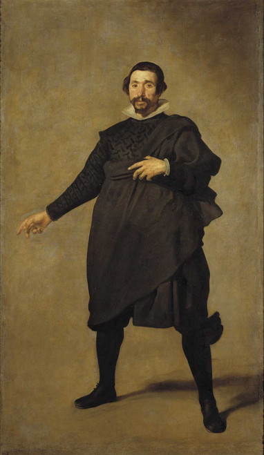 Art prints of Portrait of Pablo de Valladolid by Diego Velazquez