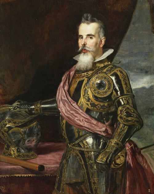 Art prints of Juan Francisco de Pimentel, Count of Benavente by Diego Velazquez