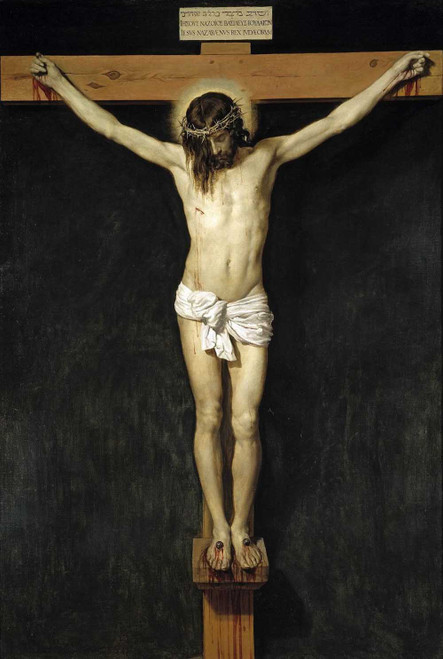 Art prints of Christ Crucified by Diego Velazquez