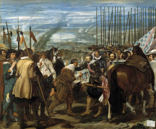 Art prints of The Surrender of Breda by Diego Velazquez