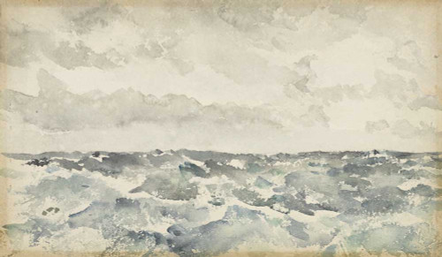 Art prints of Blue and Silver Chopping Channel by James Abbott McNeill Whistler