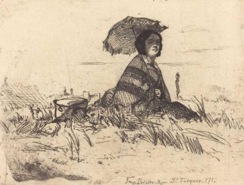 Art prints of En Plein Soleil by James Abbott McNeill Whistler